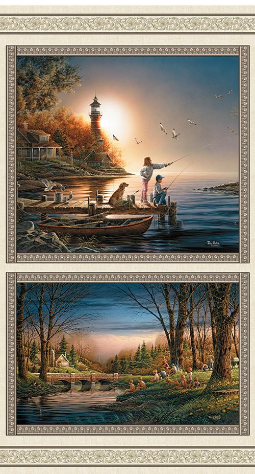 Seasons By Terry Redlin By Benartex - Multi