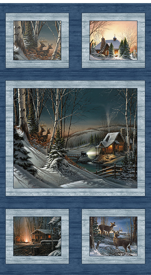 Seasons By Terry Redlin By Benartex - Blue/Multi