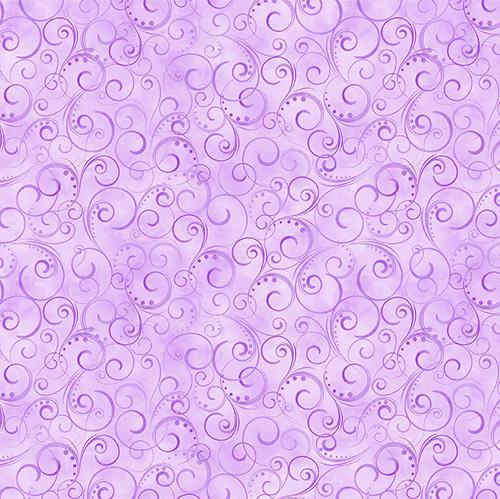 Spring Breeze By Kanvas Studio For Benartex - Lilac