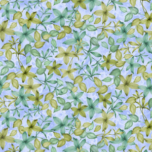 Spring Breeze By Kanvas Studio For Benartex - Blue