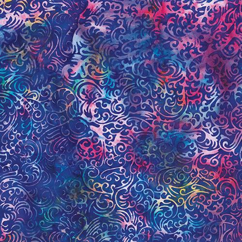 Bali Batiks By Hoffman  - Berry