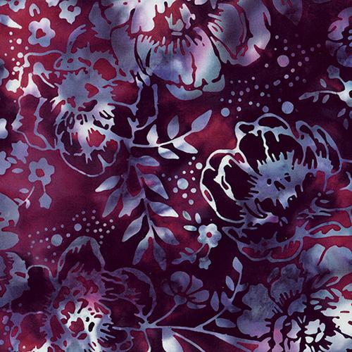 Bali Batiks By Hoffman  - Merlot