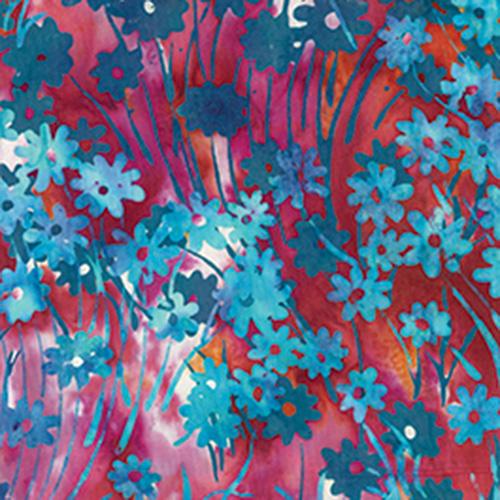 Bali Batiks By Hoffman  - Pomegranate