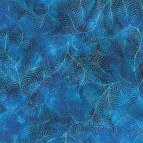 Bali Batiks By Hoffman - Blueberry