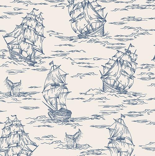 Smooth Seas By Rjr Studio For Rjr Fabrics - Smoke