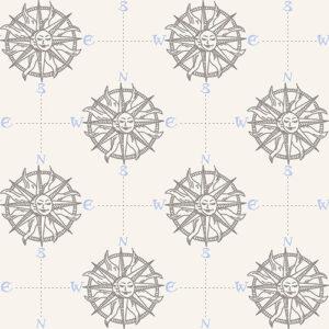 Smooth Seas By Rjr Studio For Rjr Fabrics - Fog