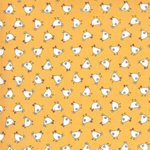 Spring Chicken By Sweetwater For Moda - Yellow
