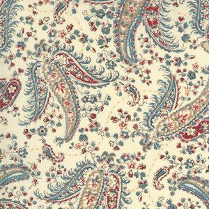 Ladies Legacy By Barbara Brackman For Moda - Engraver's Ivory