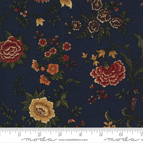 Prairie Dreams By Kansas Troubles Quilters For Moda - Navy