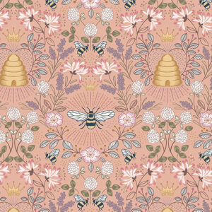 Queen Bee By Lewis & Irene - Peach