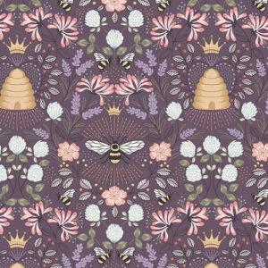 Queen Bee By Lewis & Irene - Aubergine