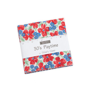 30's Playtime Charm Pack By Moda