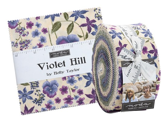 violet hill precuts and jellyroll