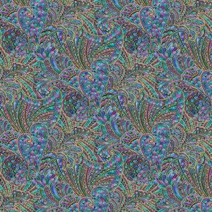 Peacock Flourish By Ann Lauer For Benartex - Multi