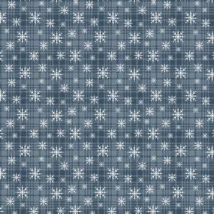 A Very Wooly Winter By Cheryl Haynes For Benartex - Denim