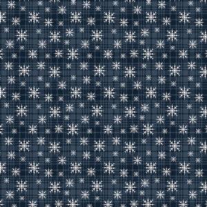 A Very Wooly Winter By Cheryl Haynes For Benartex - Midnight