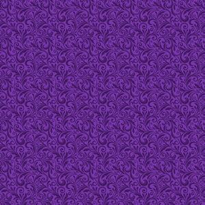Miss Marguerite By Jackie Robinson For  Benartex - Deep Purple