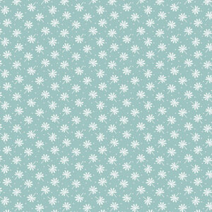 Snuggle In The Jungle Flannel By Jessica Flick For Benartex - Dark Turquoise