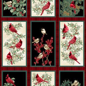 Winter Elegance Panel By Jackie Robinson For Benartex - Multi - Panel