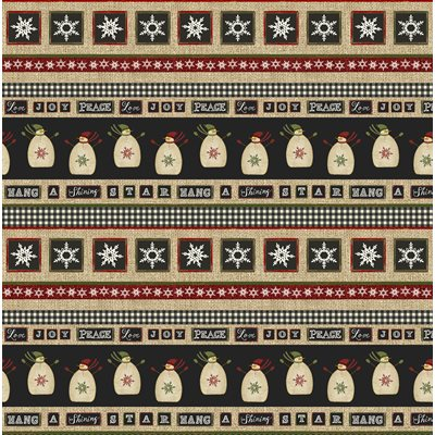 Jingle Bell Time By Beth Albert For Benartex - Multi