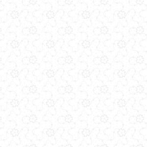 Domino Effect By Kanvas Studio For  Benartex - White/White
