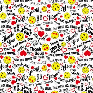 We Appreciate You By Kanvas Studio For Benartex - White