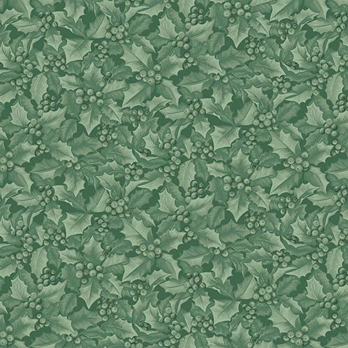 Winter Elegance By Jackie Robinson For Benartex - Medium Green