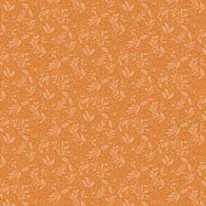 Autumn Elegance By Jackie Robinson For Benartex - Med. Tangerine