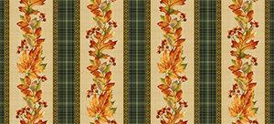 Autumn Elegance By Jackie Robinson For Benartex - Bisque/Multi