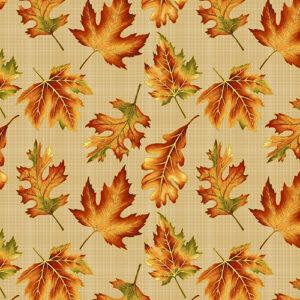 Autumn Elegance By Jackie Robinson For Benartex - Bisque