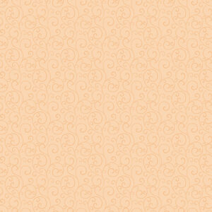 Autumn Elegance By Jackie Robinson For Benartex - Pale Tangerine