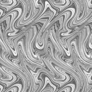 Midnight Paradise By Kanvas Studio For Benartex - Medium Gray