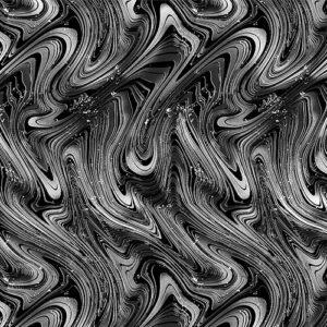 Midnight Paradise By Kanvas Studio For Benartex - Charcoal/Black