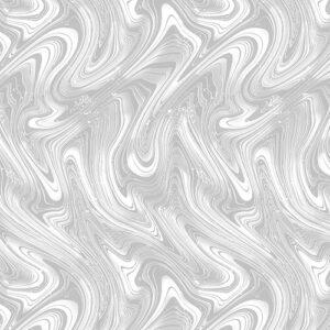 Midnight Paradise By Kanvas Studio For Benartex - Dove Gray