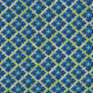 Blue Horizon By Kanvas Studio For Benartex - Green