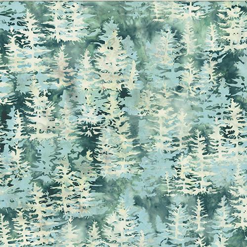 Into The Mist Batik By Mckenna Ryan For Hoffman - Juneau
