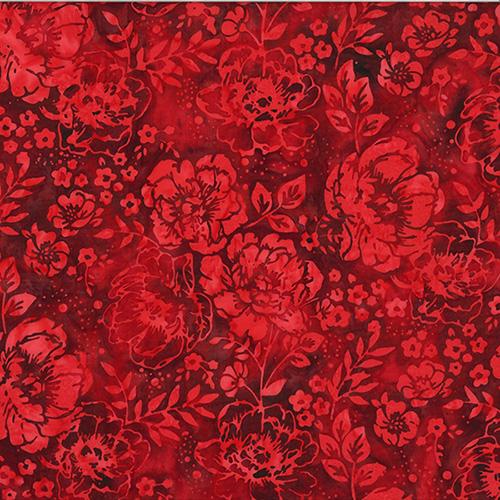 Bali Batiks By Hoffman  - Red