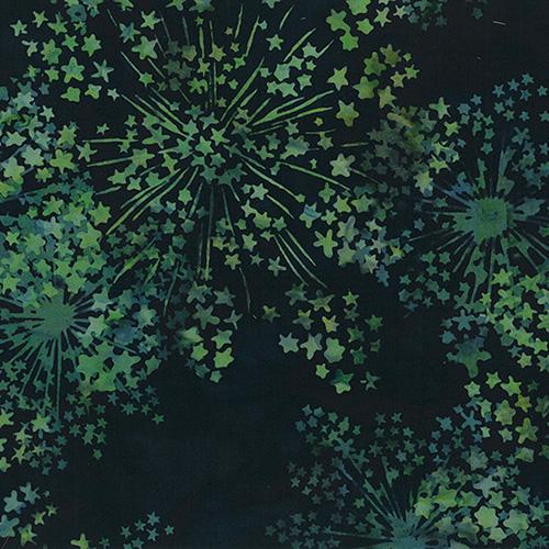 Bali Batiks By Hoffman  - Black Jade