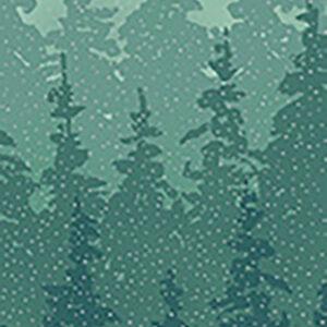 Perch By Hoffman - Dusty Teal/Silver