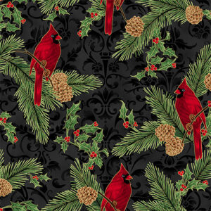 Joyful Traditions By Hoffman - Black/Gold