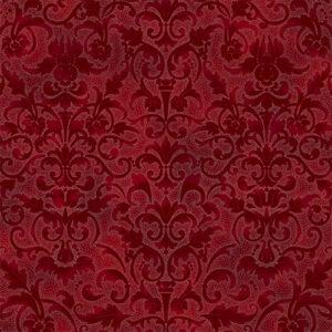 Joyful Traditions By Hoffman - Crimson/Silver