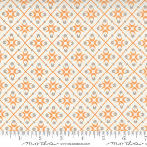 Pumpkins And Blossoms By Fig Tree & Co. For Moda - Vanilla - Pumpkin
