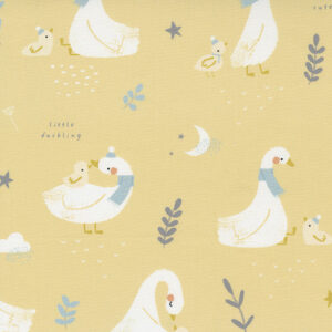 Little Ducklings By Paper And Cloth For Moda - Mustard