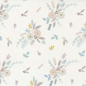 Little Ducklings By Paper And Cloth For Moda - White