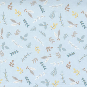 Little Ducklings By Paper And Cloth For Moda - Blue