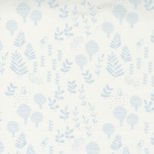 Little Ducklings By Paper And Cloth For Moda - White - Blue