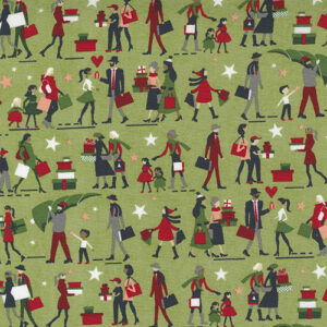 Hustle And Bustle By Basicgrey For Moda - Pear