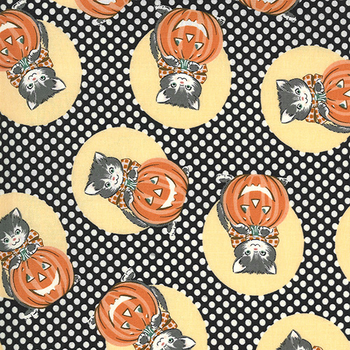 Kitty Corn By Urban Chiks For Moda - Midnight