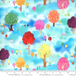 Fanciful Forest By Momo For Moda - Turquoise
