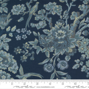 Regency Somerset Blues By Christopher Wilson Tate For Moda - Parma Gray